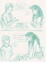 Ron_Hermione:playing chess by kia88