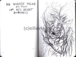 He Whose Mind is Full of His Heart by Eiluvision