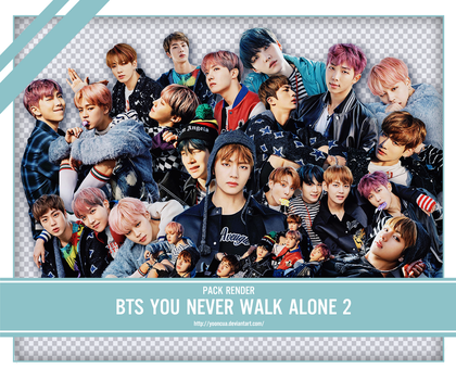 SHARE RENDER BTS YOU NEVER WALK ALONE 2 by yooncua