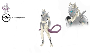 Armored Mewtwo by AaronShae