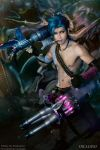 Gender Bend Jinx League of legend by okageo