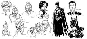 Nolan BATVERSE doodles by Hodges-Art