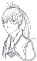 Weiss Sketch by ConstantM0tion