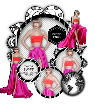 Pack Png 1463 // Taylor Swift. by ExoticPngs