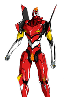 EVA 02 by AlmightyNabeshin by Ronniesolano