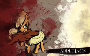 Applejack Wallpaper by NaNa-Z