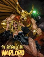 Black Canary and the Justice League vs The Warlord by Superheroine-Art