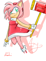 OHS: Amy Rose by vanilla-button