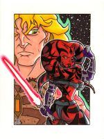 Darth Talon and Cade Skywalker by thatjuniorbruce