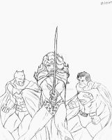 The Trio: Infinite Crisis by ThePerpetualBliss