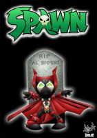 spawn by tyrannus colored by shalomone