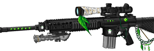 M110 SASS for my Emphest-OC by EmilysArmy