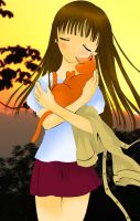 Tohru-Kyo_When she saved me... by MimiSempai