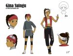 Gina Suingu (Character sheet commission) by TMI143