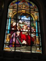 Stained Glass Of The Basilica Of Nazareth Part I by To-TheStars