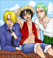 One Piece - Hot day by Spartichi