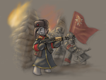 MLP Red ALert Conscript Art by CyrilUnicorn