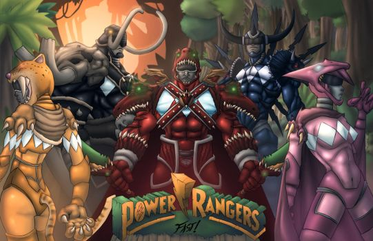 Power Rangers by Kyle-Fast