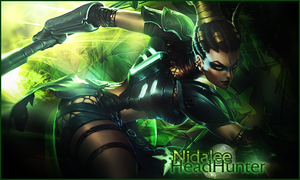 Signature Nidalee - League of Legends V2 by Ellanna-Graph