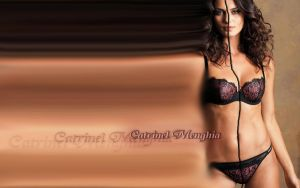 Catrinel Menghia lovely cyber fading by magXlander