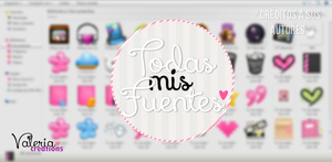 +All my fonts :] by freshowl