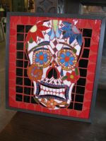 Day of Dead Skull by SequentialGlass