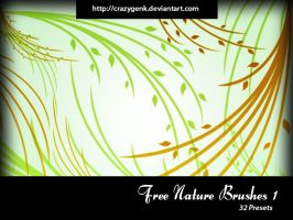 Free Nature Brushes 1 by crazygenk