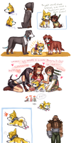 FFVII dog bonus by emlan