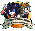 Commission: Jack And Andrew Ring ID by DredgeTH