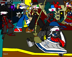 The Troupe in Chaos by Firewarrior117