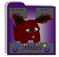 Miles reference (old) by Darkyoaifox