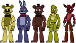 Five Nights at Freddy's Puppet Rigs by Lunaboticmod