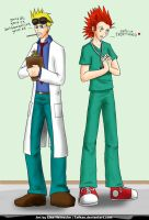 KH - Dr Cid and Nurse Axel by tafkae
