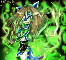 Gift:Green power by KattyTH96