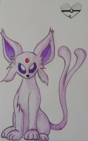 Espeon by Animal-Amans