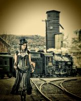steam punk edit by wroquephotography