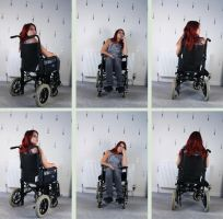Wheelchair 3 by Tasastock