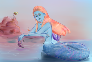 Moby Richelle the Mermaid by Hilups