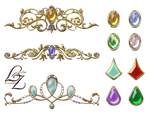 Crown Tiara Gems Lyotta by Lyotta