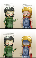 Thorki: Kidding by itz-Cindyrella