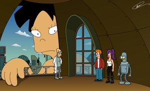 Futurama - Gigantic Lecture by Spider-Matt