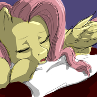 Sleepyshy by CeleryPony