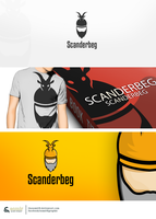 SCANDERBEG logo by thesamirH