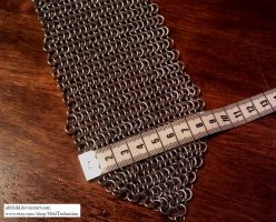 Chainmail Tie (MAR 2013) by ulfchild
