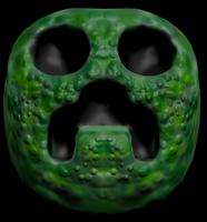 Creeper face by Benderxable