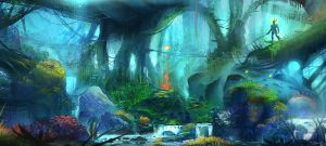 Fantasy environment by steena65
