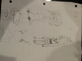 Shiityyy doodles in old af style by nordy-23