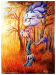 Blaze in sonic boom style by Anoyliss