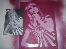 Hayley Williams Stencil by artbyabbey