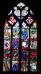 Stained Glass, Munster of Bern by UkoDragon